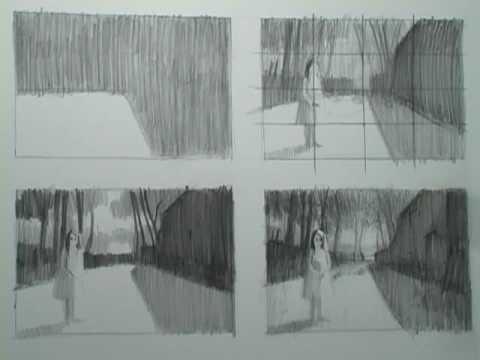 Drawing Tutorials Online - Composition - Landscape - Clip