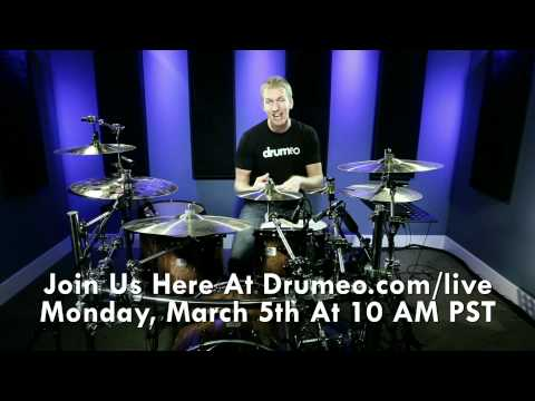 Free Live Drum Lesson - Linear Drum Fills