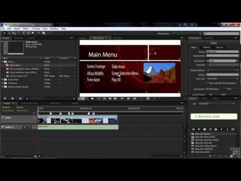 Adobe Encore CS6 Tutorial | Building Playlists in Encore | InfiniteSkills