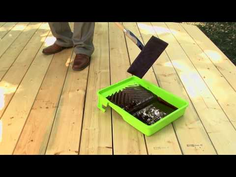 How to Stain a Deck with the Whizz Application Pad