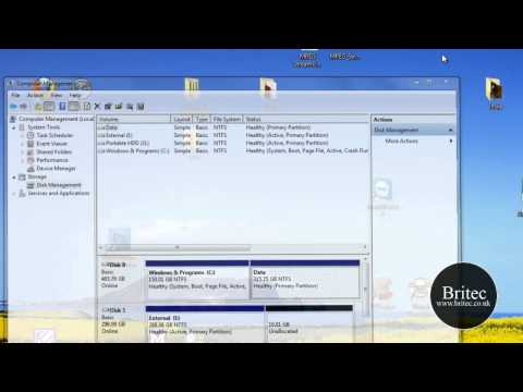 How to Hide Drives in Windows 7 or Vista by Britec