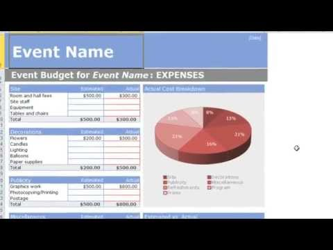 Excel 2010: Templates