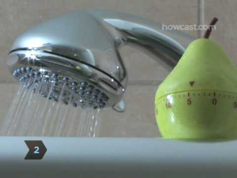 How to Save Water By Taking a Shorter Shower