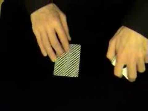 One Handed Bottom Deal - Card Tricks