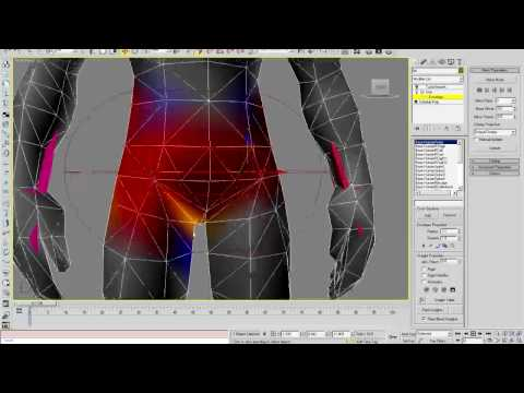 Importing & Rigging a Bloodelf in 3D Studio MAX Part 4