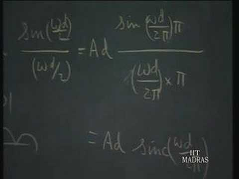 Lecture - 14 Fourier Transforms (2)