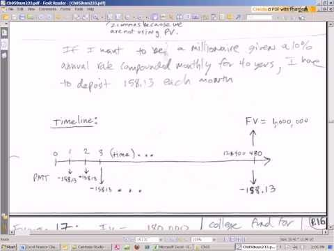 Excel Finance Class 31: Calculate PMT for Future Value of Annuity (PMT Function)