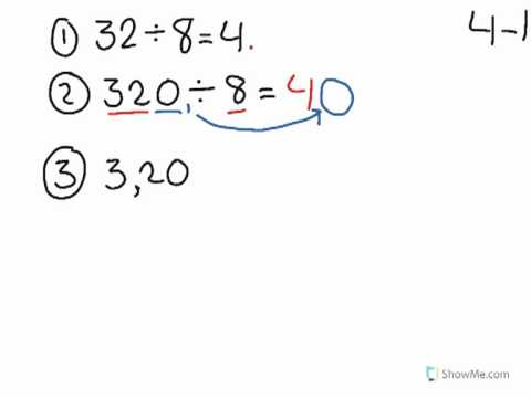 Learn about Dividing Multiples of 10