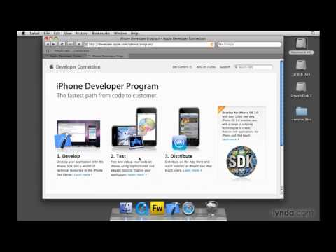 Joining the Apple iPhone Developer Program | lynda.com tutorial