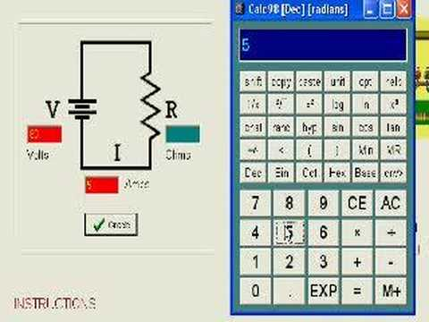 Ohm's Law Part 2: Ohm's Law Applied to Simple Circuits