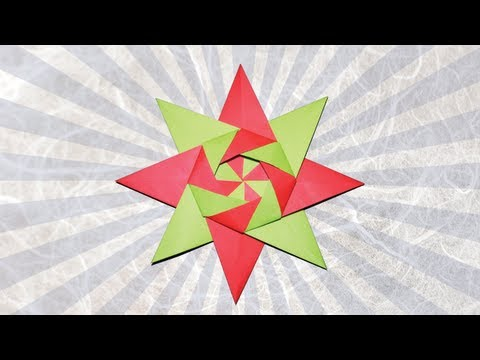 Origami KalamiStar by Tine Pape (Folding Instructions)