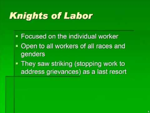 Schmidt Notes - US History - Unit 2 - Big Business and Labor (Chapter 6.3)
