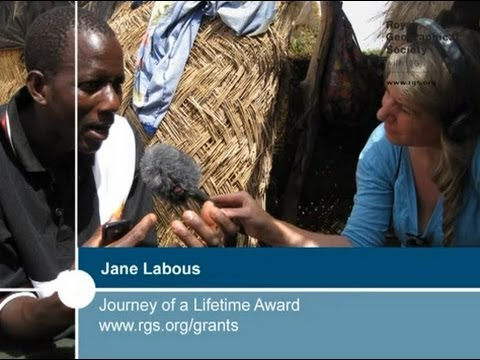 Journey of a Lifetime Award recipient Jane Labous
