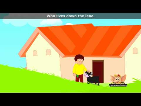 Baa Baaa Black Sheep - Nursery Rhyme with Lyrics