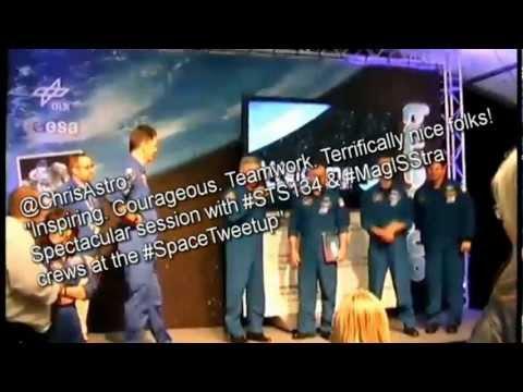 First European SpaceTweetup - meet the gang!