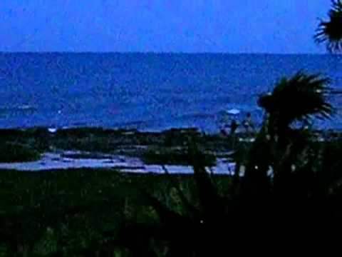 Dusk on the Caribbean Coast:  Summer Breeze