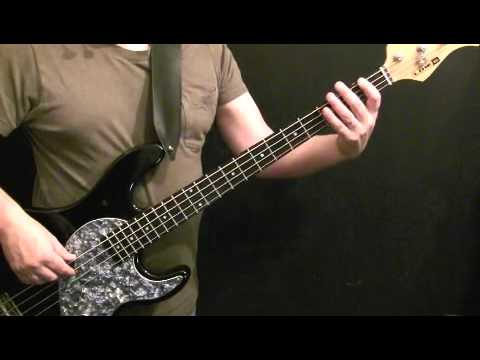 How To Play Bass Guitar To Don't Stop Me Now (Part 1) - Queen - John Deacon