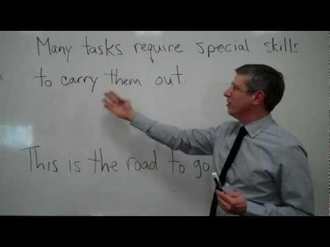 Errors Involving Infinitive Phrases