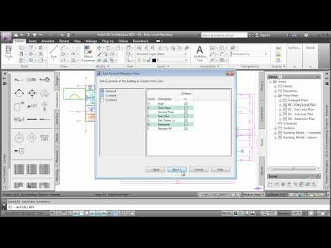 Creating Sections: AutoCAD Architecture 2013