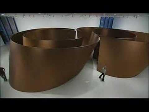 Richard Serra at MoMA - Torqued Torus Inversion and Sequence