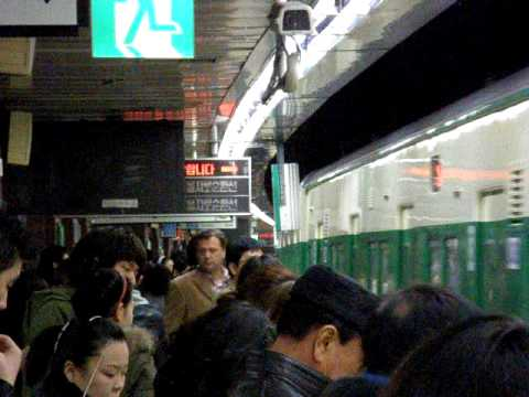 In Seoul subway (waiting for the train)