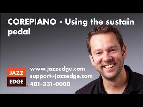 COREPIANO - Using the sustain pedal
