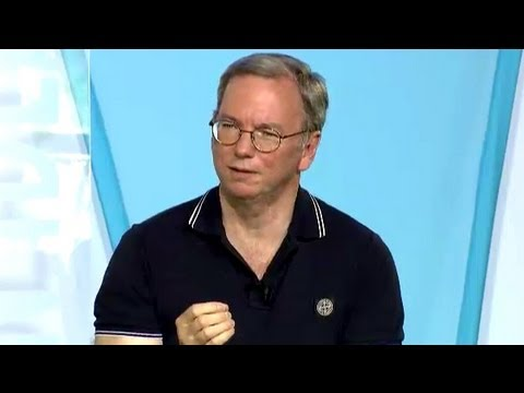 Google's Eric Schmidt: Let's Celebrate America's Success