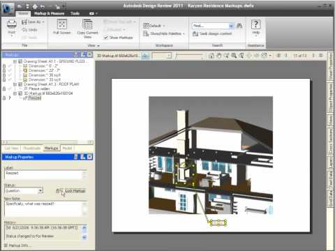 Design Review 2011 — Using 2D Markups