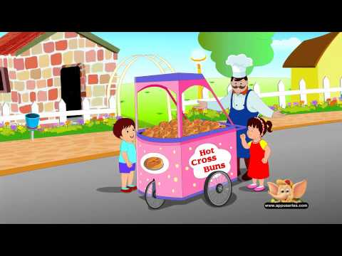 Classic Rhymes from Appu Series - Nursery Rhyme - Hot Cross Buns