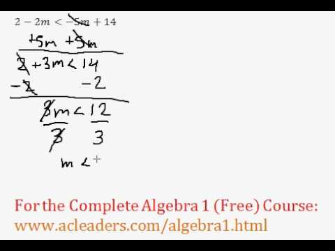 Simple Inequalities - Question #3