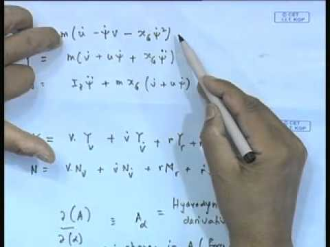 Mod-01 Lec-25 Dynamic Equations of Motion - II
