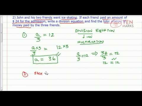 Solve Division Equations