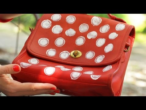 DIY Polka Dot Purse: Make It Yourself KIN DIY