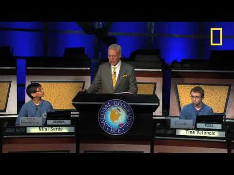 National Geographic Bee's Tense Final Moments