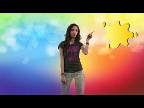 french lesson 6 - the colours, third group verbs -
