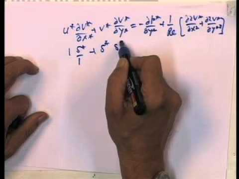 Mod-01 Lec-05 Laminar Boundary Layers