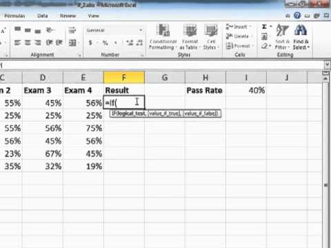 Learning Excel 2010 Use The AND Operator To Reduce Quantity Of Nested IFs