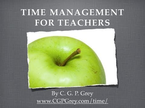 Time Management for Teachers (v2)
