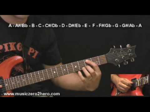 Guitar Instructions - Learn the Fretboard Part 2
