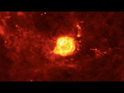 Violent Universe: Echoes of A Dying Star