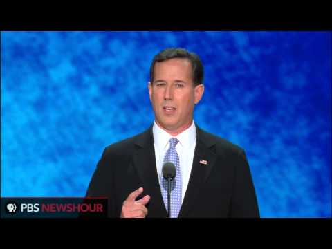 "Former Sen. Rick Santorum: ""I Shook the Hand of the American Dream"""