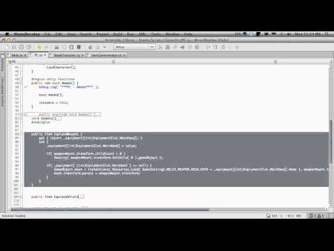 258. Unity3d Tutorial - Adding To The BaseCharacter