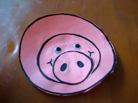 Toddler - Math. Circle shape pig