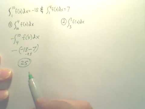 Ch 4 Quiz  Definite Integral