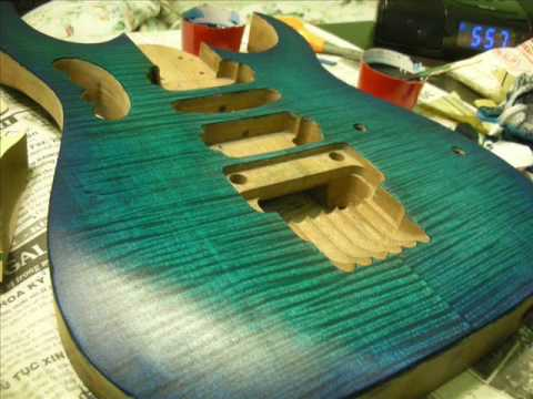 DIY GUITAR - Part 9: Staining the Body