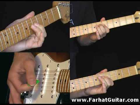 Highway star - Deep Purple - Cover Guitar Lesson Part 2