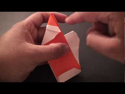 Origami Daily - 081: Santa Clause Ver. 4 (Santa With a Bag) - TCGames [HD]