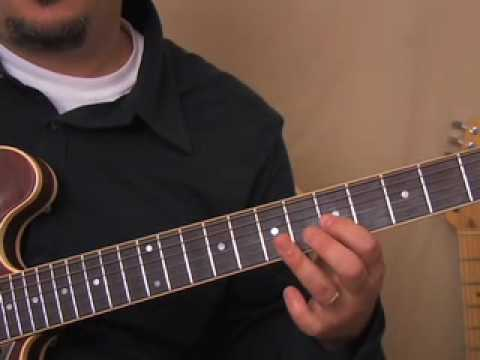 Guitar scales - Blues Scale Minor Pentatonic and the Extended Scale - Just the Fingering