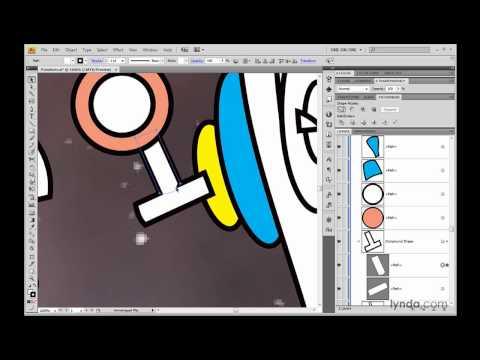 Illustrator: Uniting paths permanently   lynda.com
