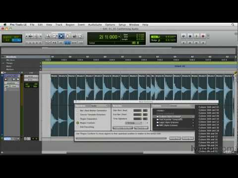 Exploring the Pro Tools Beat Detective feature | lynda.com overview
